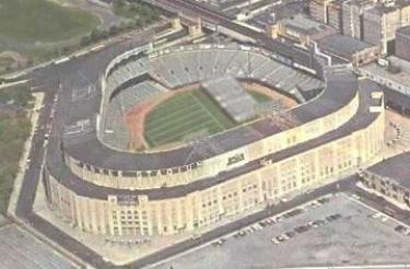 Yankee Stadium Home Of The Giants 1956-1973