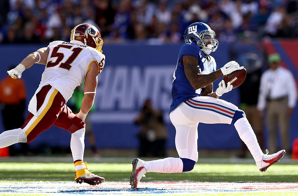 Giants to Sit Odell Beckham Jr. in Thursday Preseason Opener