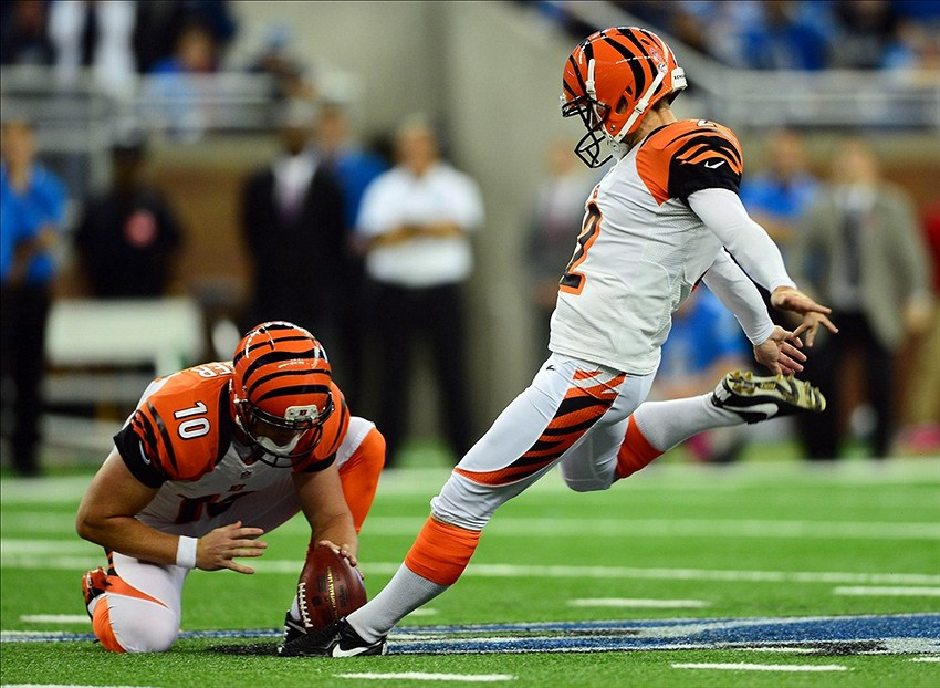 Giants Sign Ex-Jets, Bengals Kicker Mike Nugent