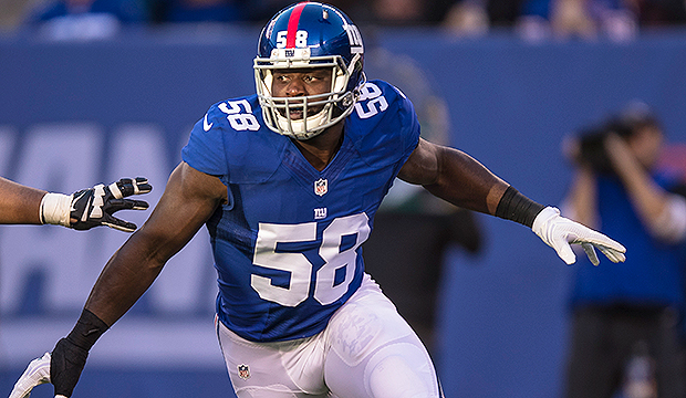 Giants release Owa Odighizuwa following defensive end's four-game PED suspension