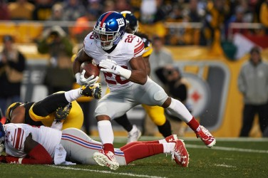3c65db4ff Giants RB Paul Perkins Had Surgery This Offseason to Repair Pectoral Injury