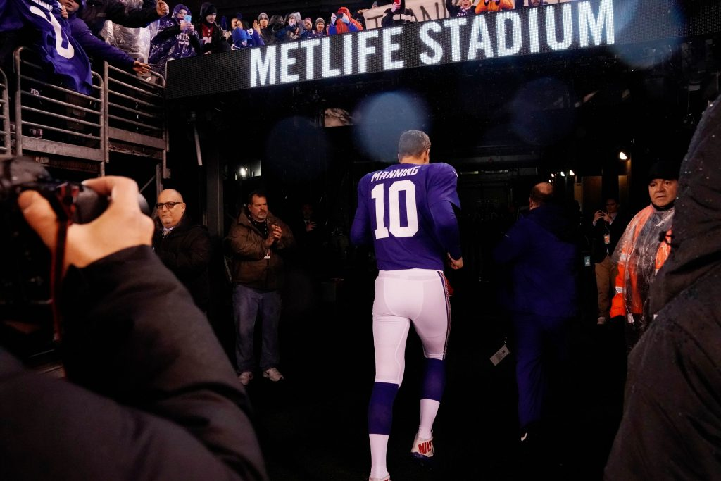 Giants owner Mara, Manning meet to discuss future